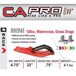 C&A Pro Skis - Mini (120's, 200's, & Race)