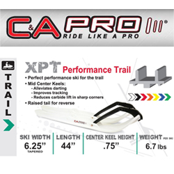 C&A Pro Skis - XPT (Performance Trail)