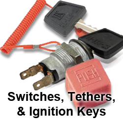 Switches, Tethers, Ignition Keys