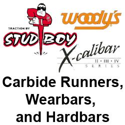 Ski Runners, Wearbars, & Carbides